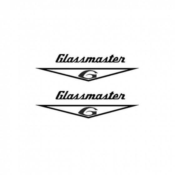Glassmaster Boat Kit Decal...