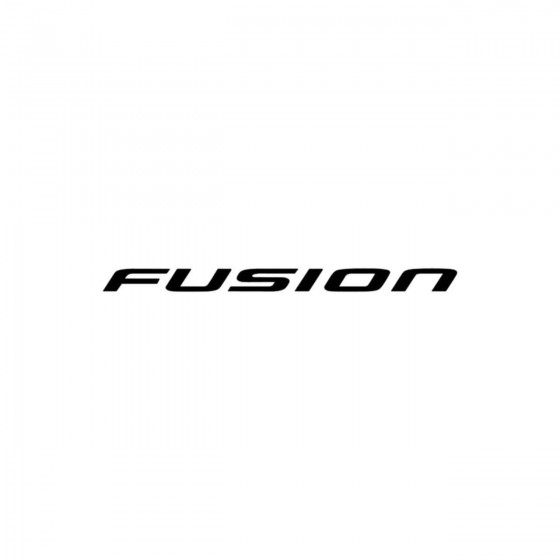 Ford Fusion Vinyl Decal...