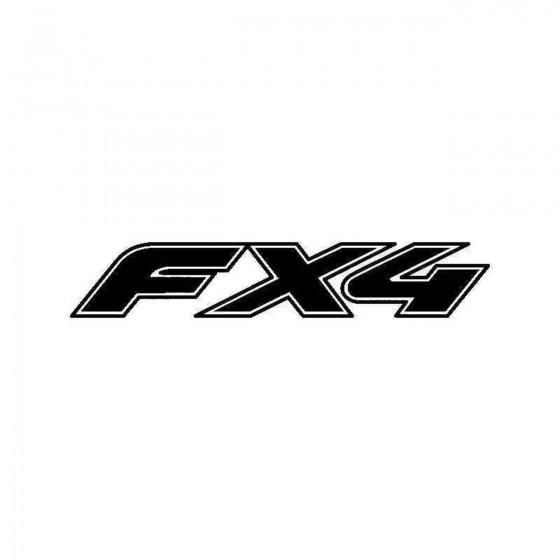 Ford Fx Vinyl Decal Sticker