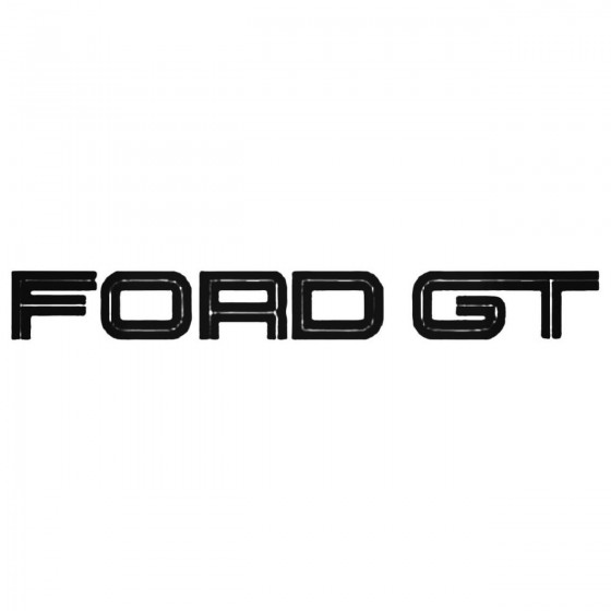 Ford Gt Decal Sticker