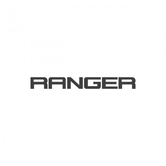 Ford Ranger Logo Vinyl...
