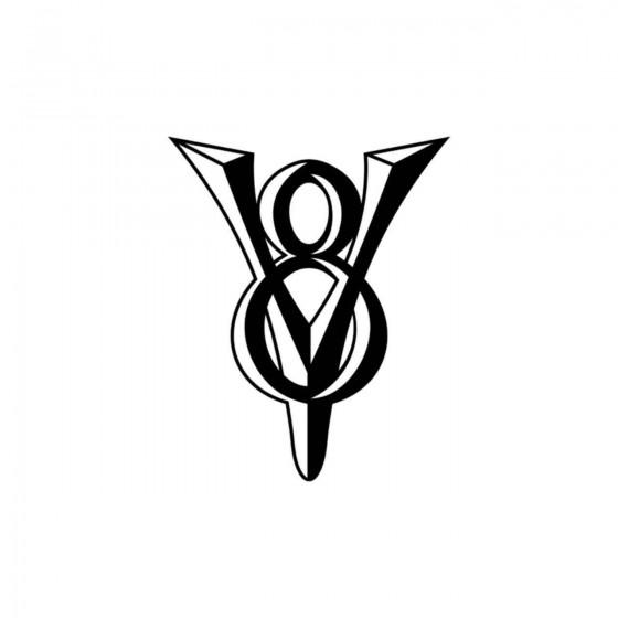 Ford V8 Vinyl Decal Sticker