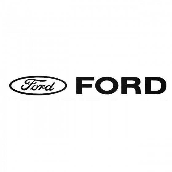 Ford Windshield 1 Decal...