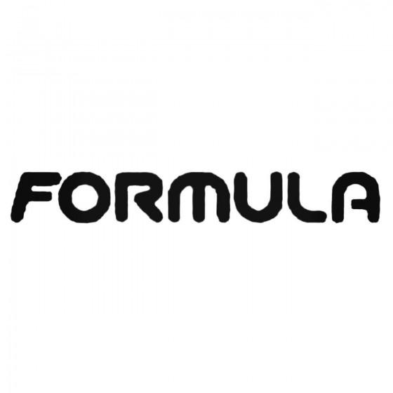 Formula Brakes Text Decal...