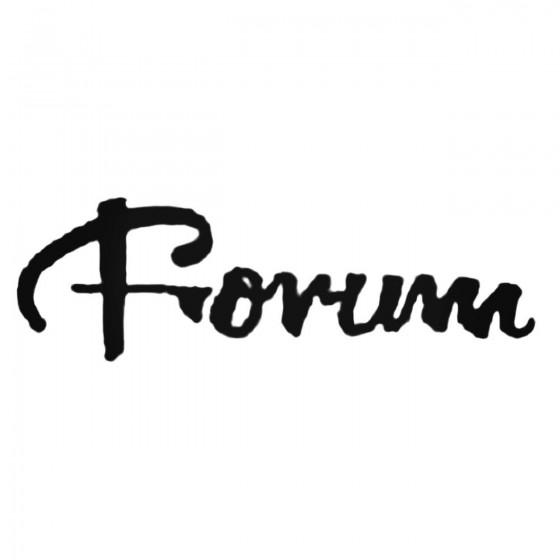 Forum Script Decal Sticker