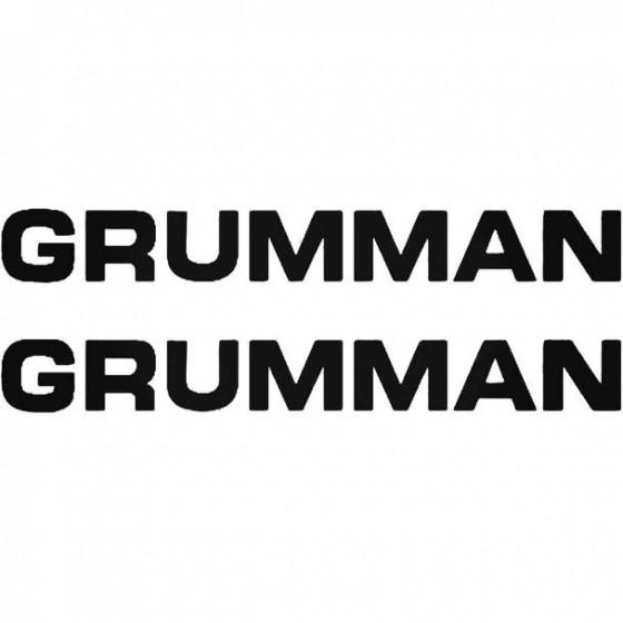 Grumman Boat Kit Decal Sticker