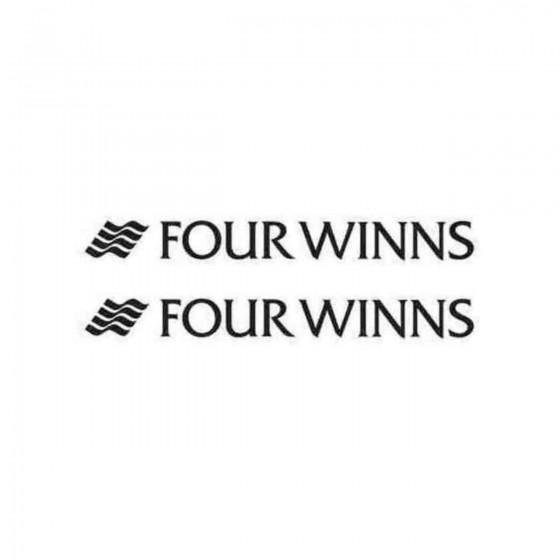 Four Winns Boat S Decal...