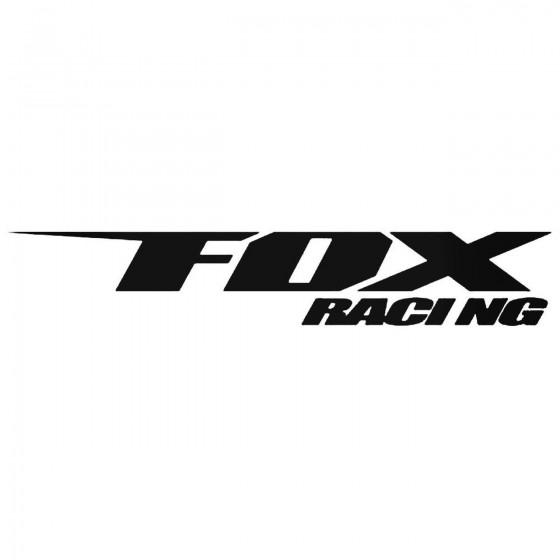 Fox Racing Decal Sticker