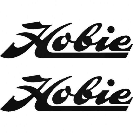 Hobie Boat Kit Decal Sticker