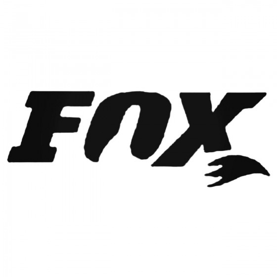 Fox Shocks Inner Decal Sticker