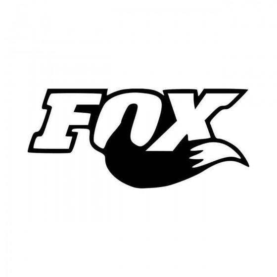 Fox Shocks Logo Vinyl Decal...