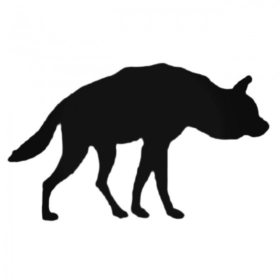 Fox With Short Tail Decal...