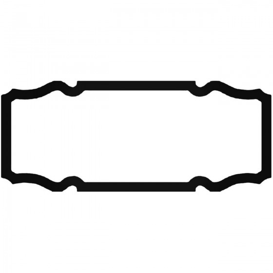 Frame Ap Decal Sticker