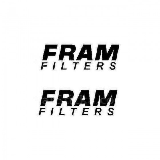 Fram Filters B Decal Sticker