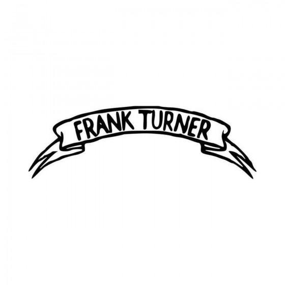 Frank Turner Band Logo...