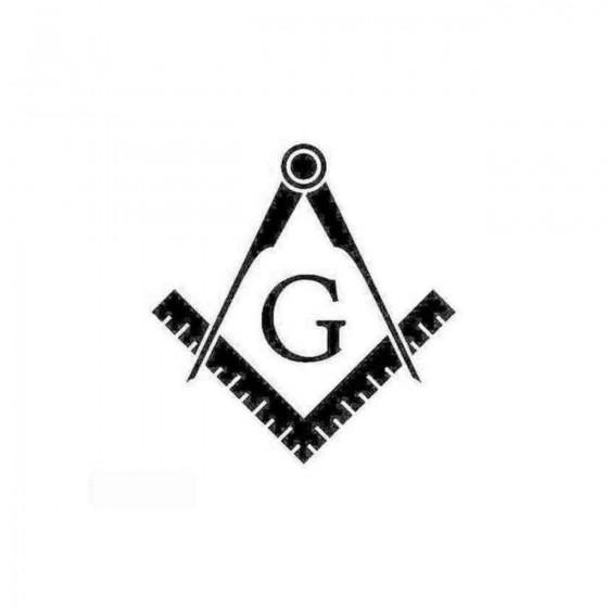 Freemason Decal Sticker