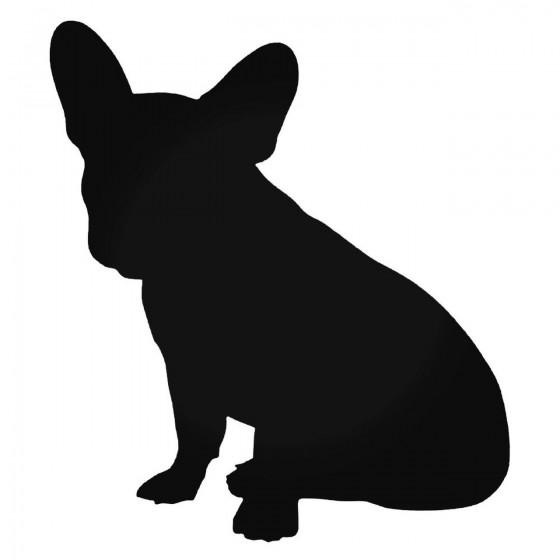 French Bulldog Dog Sitting...