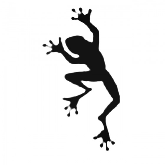 Frog Toad Walking Decal...