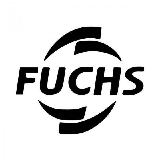 Fuchs Vinyl Decal Sticker