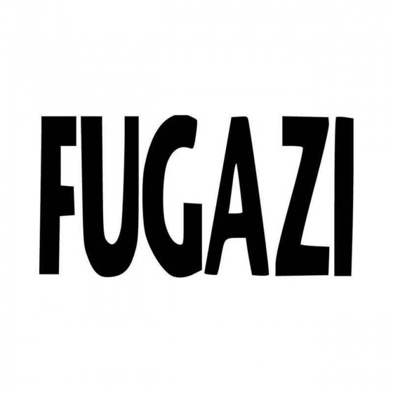 Fugazi Logo Vinyl Decal...