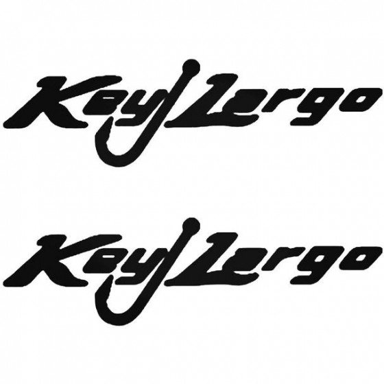 Key Largo Boat Kit Decal...