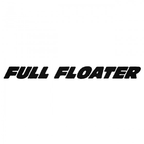 Full Floater Solid Decal...