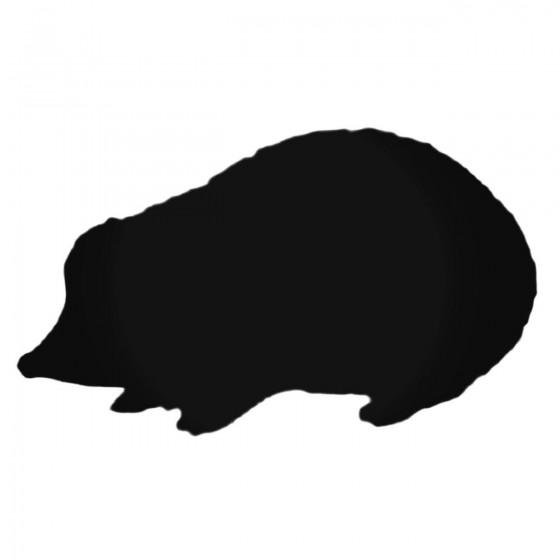 Furry Mole Decal Sticker