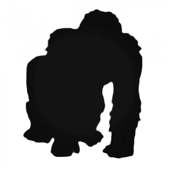 Fuzzy Ape Decal Sticker