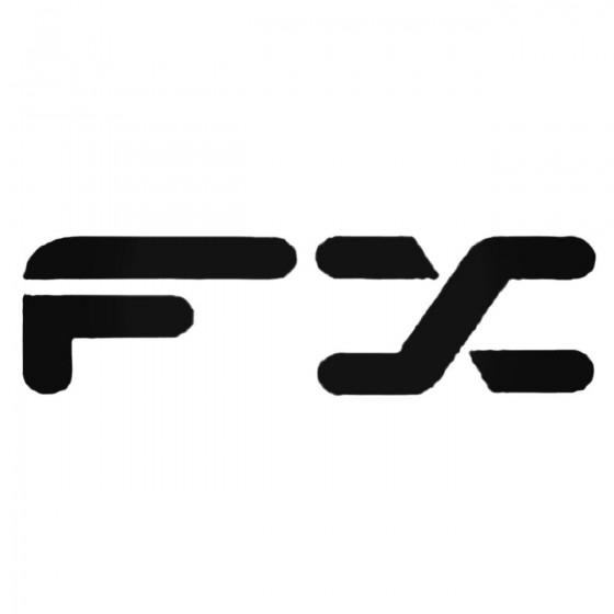 Fx Decal Sticker