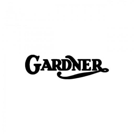 Gardner Vinyl Decal Sticker