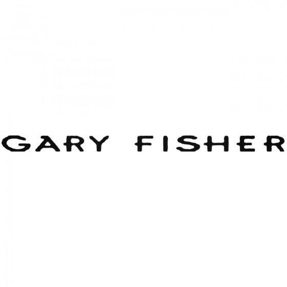 Gary Fisher Decal Sticker