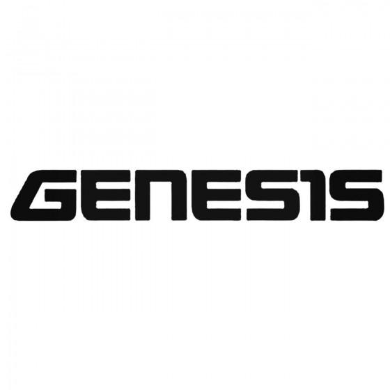 Genesis Aftermarket Decal...