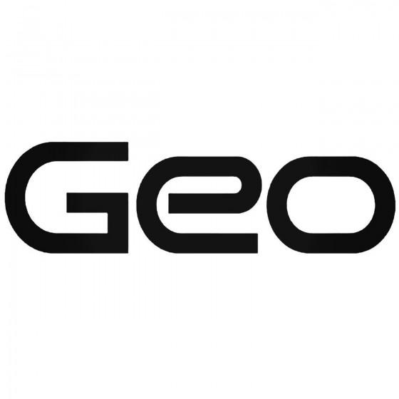 Geo Graphic Decal Sticker