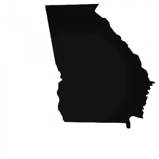 Georgia Ga State Decal Sticker