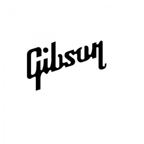 Gibson Guitar Vinyl Decal...