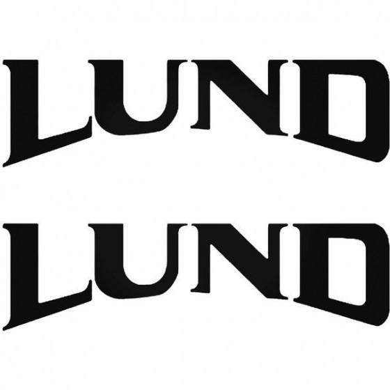 Lund Boat Kit Decal Sticker