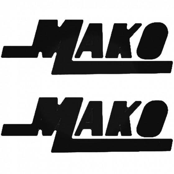 Mako 2 Color Boat Kit Decal...