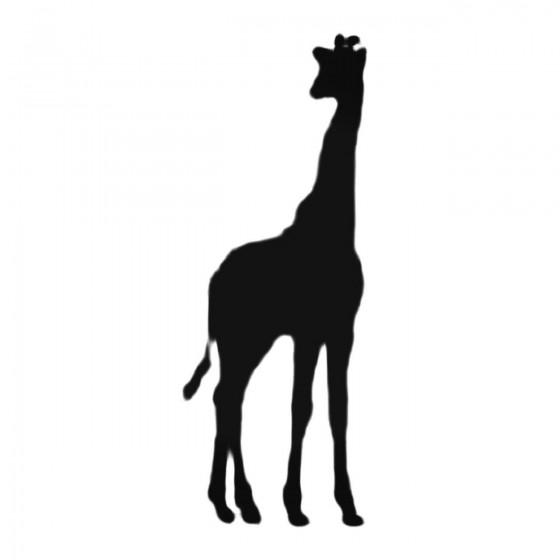 Giraffe Silhouette Decal...