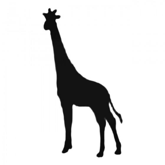 Giraffe Standing Decal Sticker