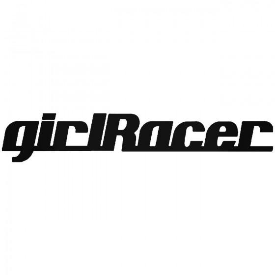 Girlracer Sticker