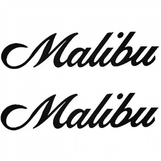 Malibu Boat Kit Decal Sticker