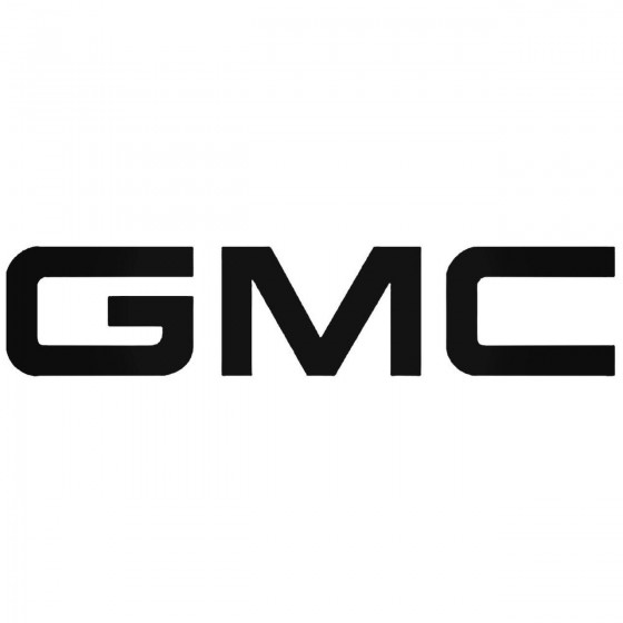 Gmc Graphic Decal Sticker