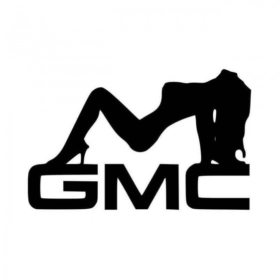 Gmc Sexy Girl Vinyl Decal...