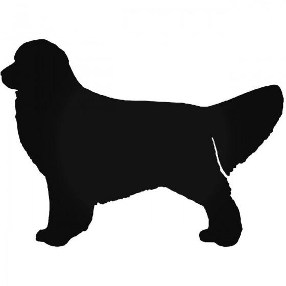 Golden Retriever Dog 1 Sticker