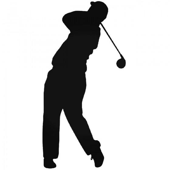Golfing 4 Sticker