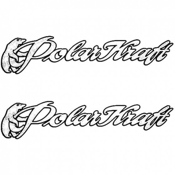 Polar Kraft Boat Kit Decal...