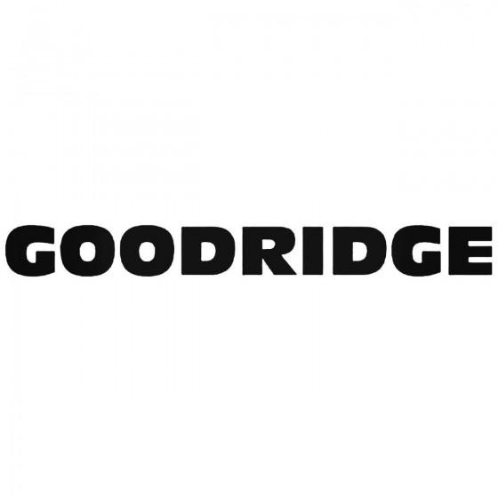 Goodridge Graphic Decal...