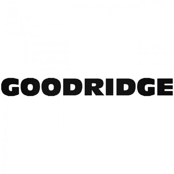 Goodridge Sticker
