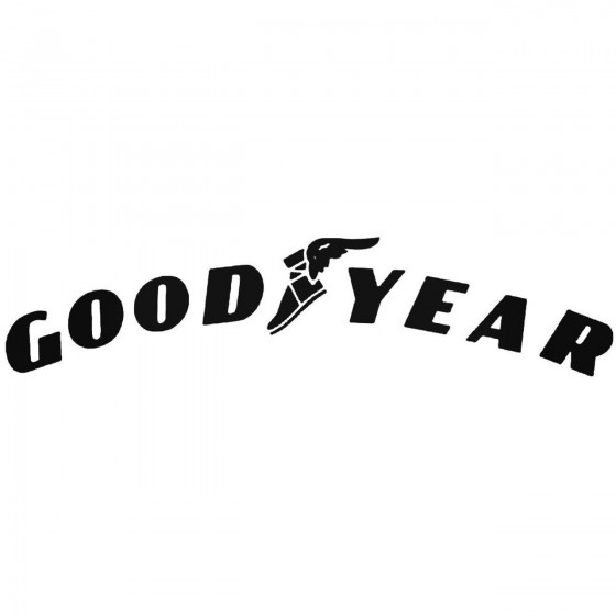 Goodyear 2 Graphic Decal...