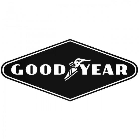 Goodyear 2 Sticker